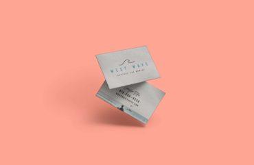 west wave - card